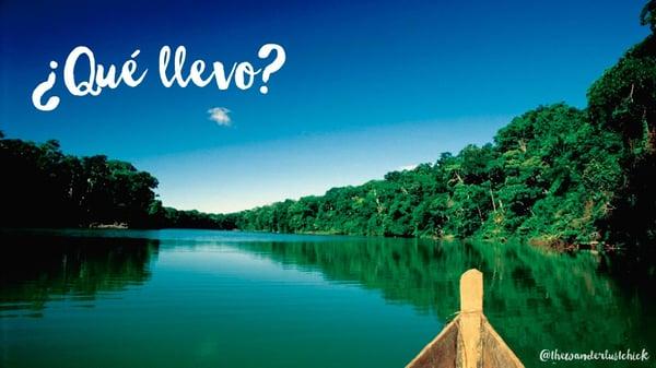 recomendaciones viaje Amazonas