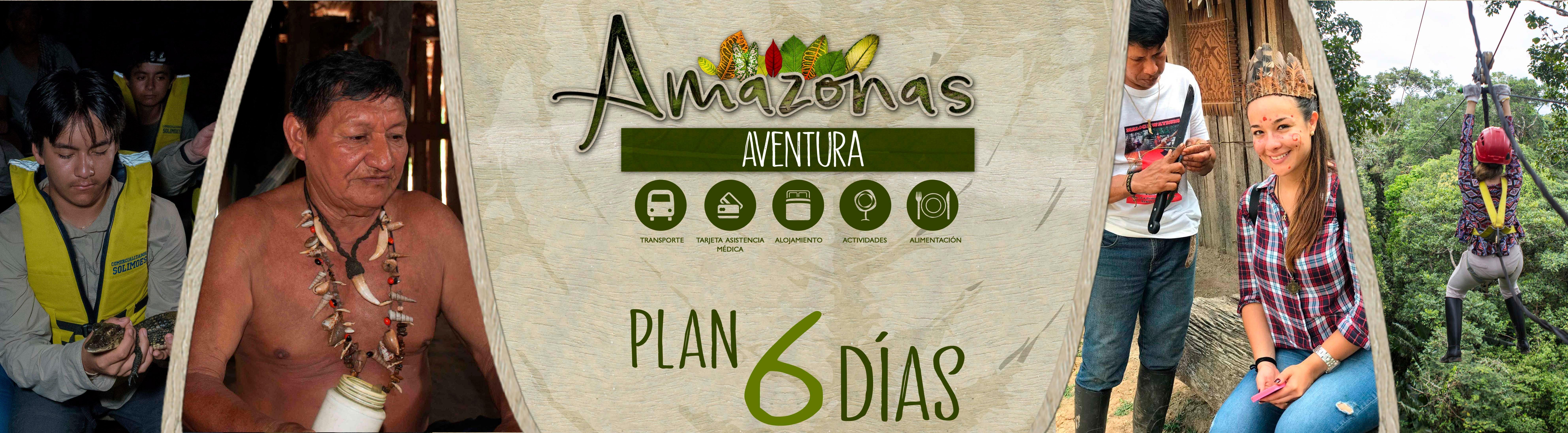 aventura 6 DIAS