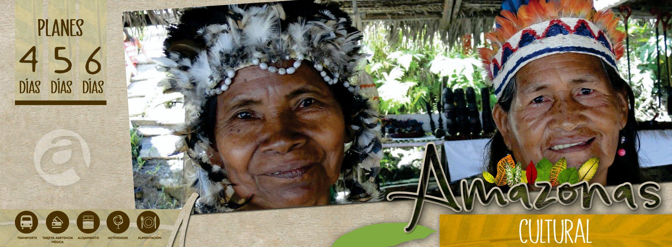 Planes culturales Amazonas
