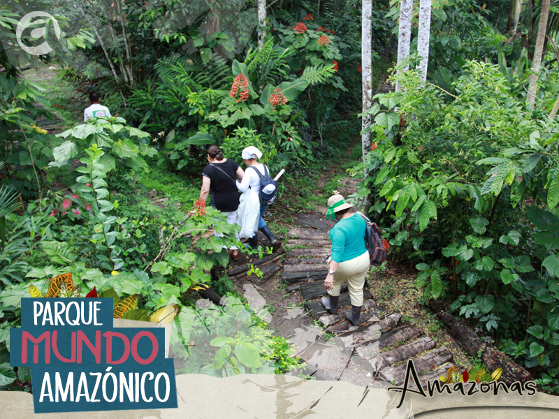 Banner parque mundo amazonico