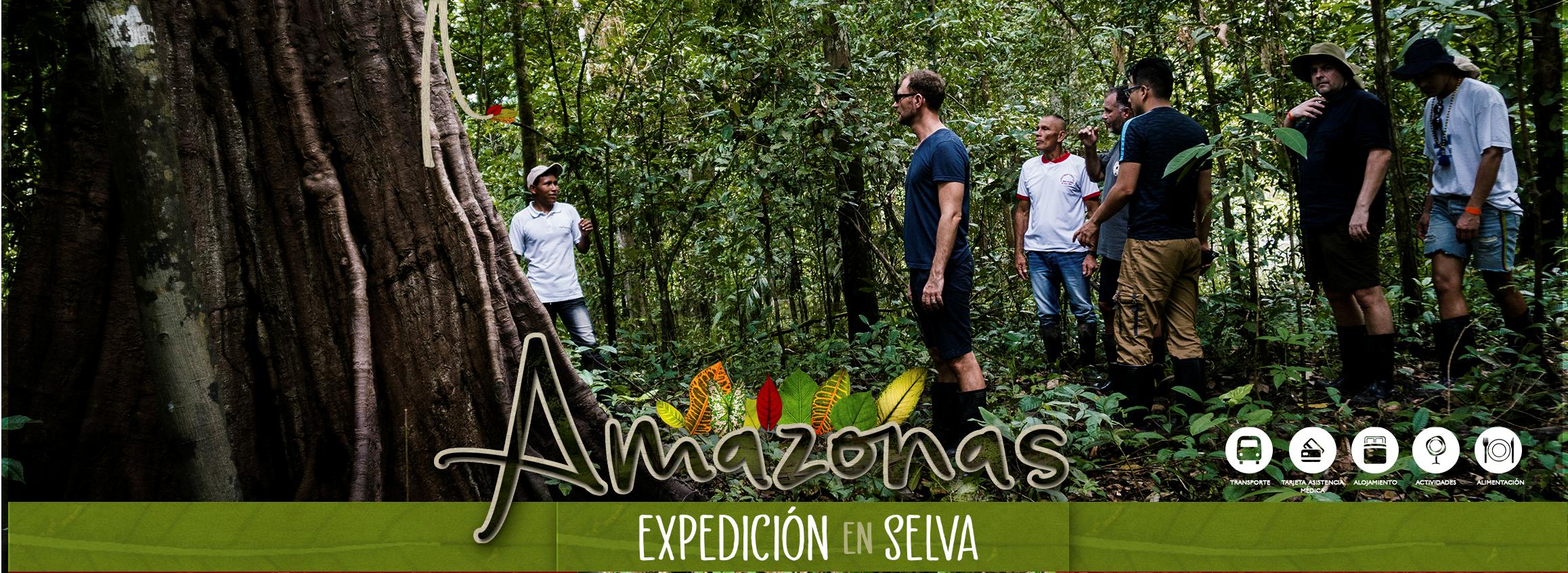 planes en selva amazonas