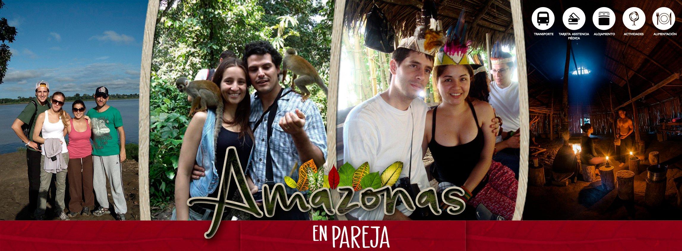 Planes en pareja Amazonas